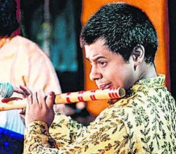 Photo of Indian flutist Shashank