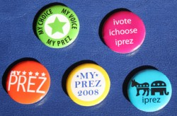 Photo of My Prez buttons
