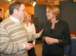 Photo of Dennis Goldford and Katie Couric