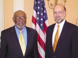 photo of Johnnie Carson and Ron McMullen
