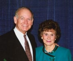 Photo of former Iowa Gov. Robert D. and Billie Ray