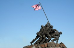 Photo of Iwo Jima Memorial