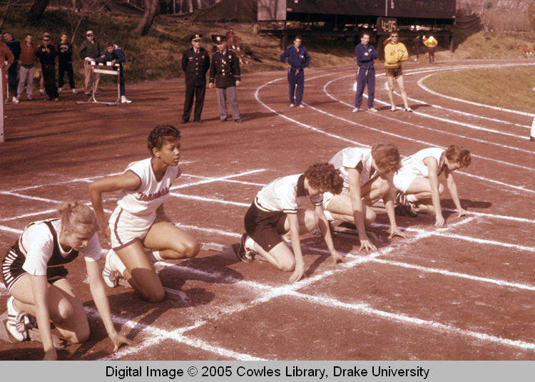 "Old School Photo: The Drake Relays ""Tornado"""