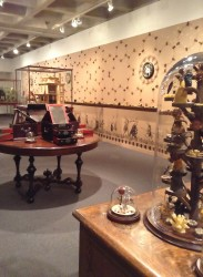 "A view of the ""Magpie Tendencies"" exhibition in Drake's Anderson Gallery"