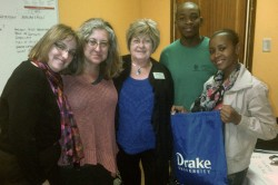 Drake Representatives Visit South Africa