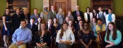 LEAD Students with State Legislators