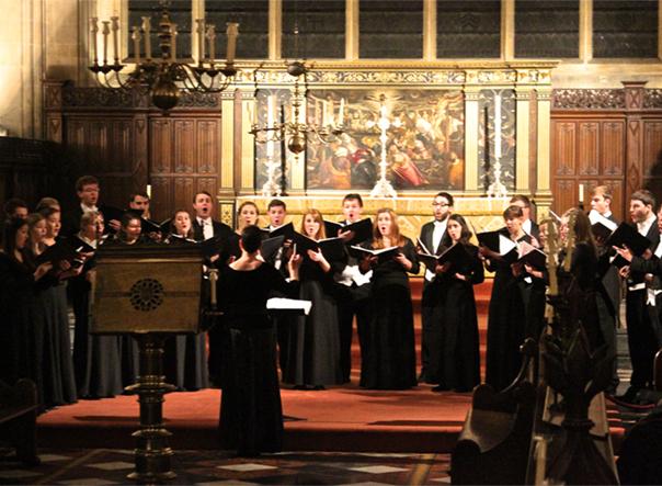 Drake Chamber Choir tours England