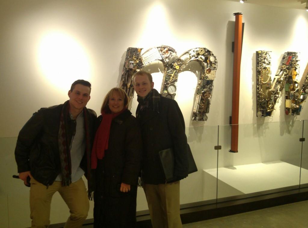 Sean Hall, Dorothy Pisarski and Reese Jones.