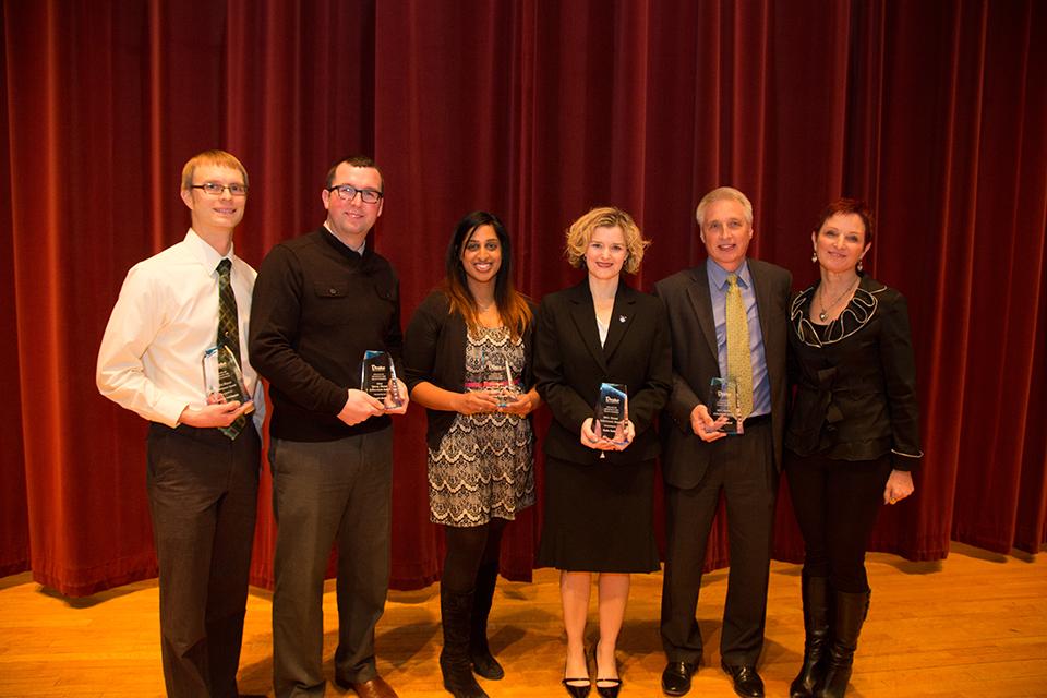 CPHS recognizes five outstanding alumni