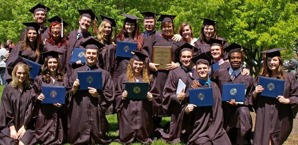 Photo with 2014 grads