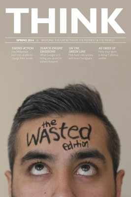 This Think magazine cover by Leah Walters is a finalist for a Design of the Year Pacemaker.