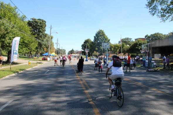 Open Streets Des Moines 2013 (Photo: Luke Nankivell, Times-Delphic)
