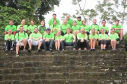 J-Term Students in Belize.