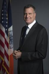 Mayor Bill de Blasio. Credit: Rob Bennett for the Office of Mayor Bill de Blasio