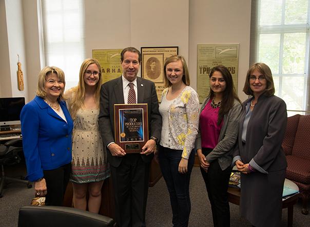 Drake University a top producer of Fulbright Scholars