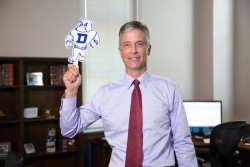 Meet President Marty Martin and grab Spike on a Stick at Drake Day at the Fair.