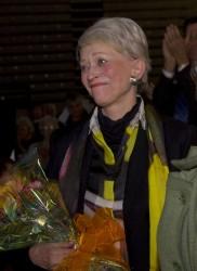 Melva Bucksbaum and her husband, Martin, established the Martin Bucksbaum Distinguished Lecture Series at Drake University.