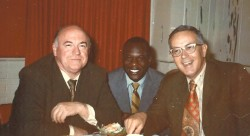 Virgil Clark, left, with Dolph Pulliam and Maury John.
