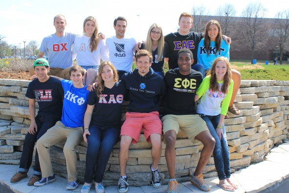 More than one-third of Drake's undergraduate students are part of the Greek Life system.