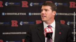 Chris Ash was named Rutgers' head coach on Dec. 7, 2015