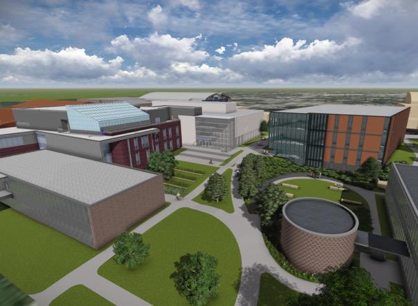 Drake University breaks ground on Collier-Scripps Hall