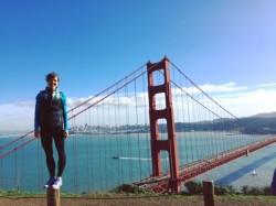 Drake alumna Madison Thompson works in San Francisco, Calif.