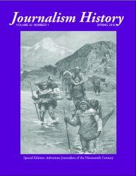 Journalism History April