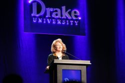 Krista Tippett delivers the 37th Bucksbaum lecture.