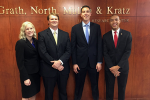 Drake's Third-Place Arbitration Team