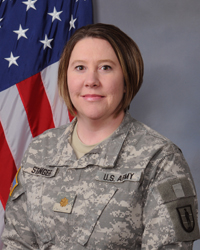 Kristina Stanger Military Headshot