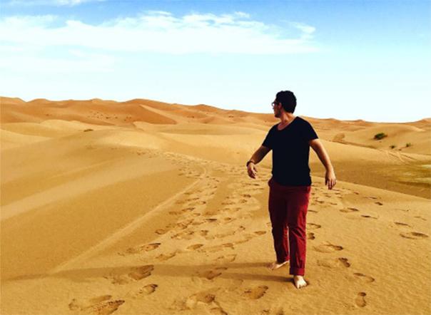 Dustin Eubanks Study Abroad