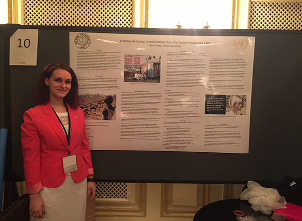 Students share research at Midwest Political Science Association conference