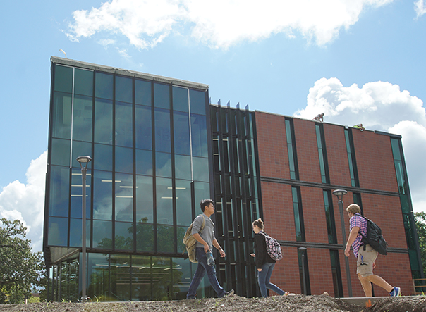 Students thrive in beautiful new academic buildings