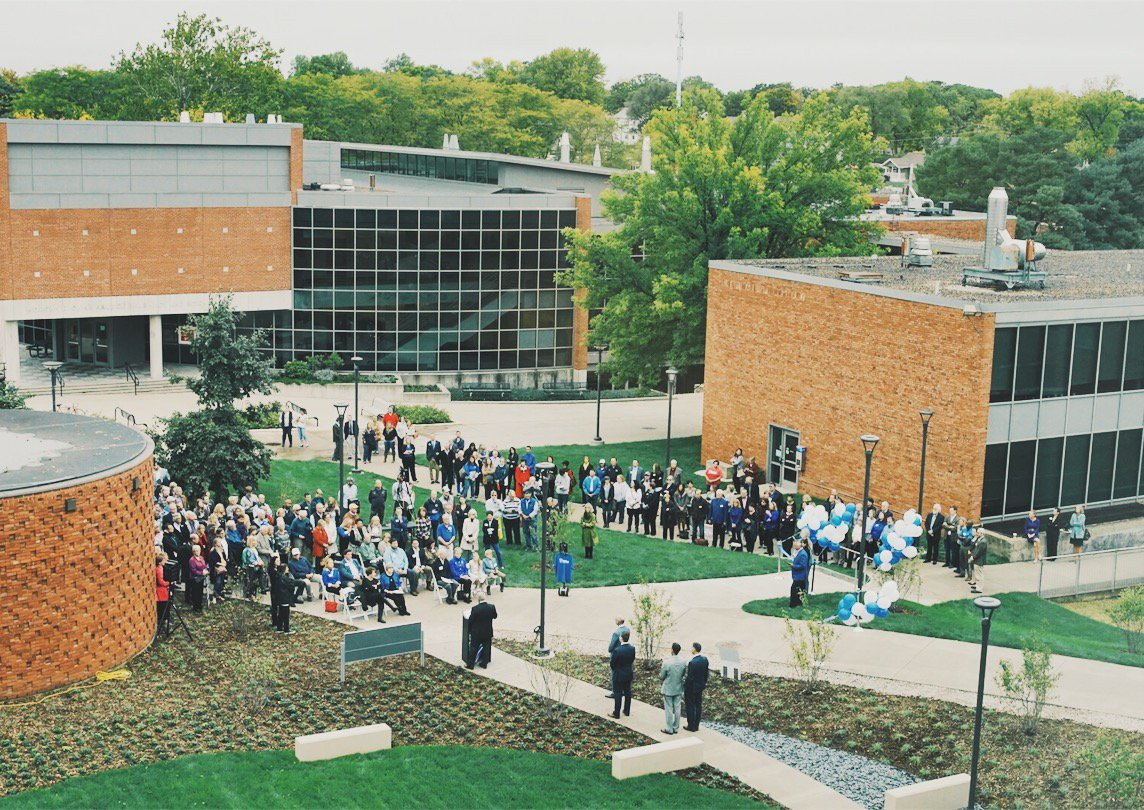 Historic Moment Drake Celebrates First New Academic Buildings