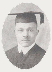 Howard Drew Graduation Photo