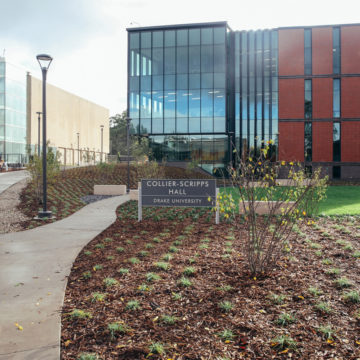 Drake University awarded Two Green Globes rating for new buildings