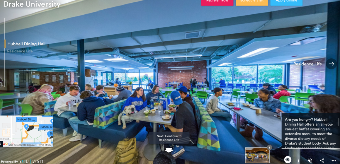 Explore campus with the new virtual tour