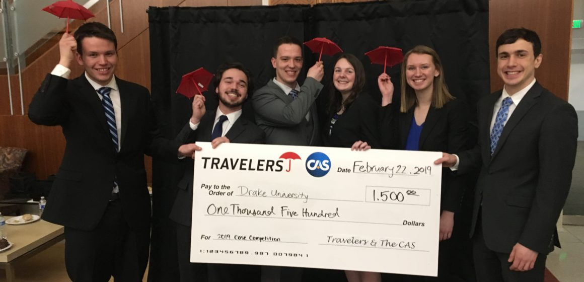 Actuarial Science students win 2019 Travelers Actuarial Case Competition