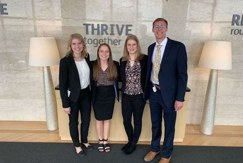 Drake Actuarial Science students place second in 2019 Humana Actuarial Case Competition