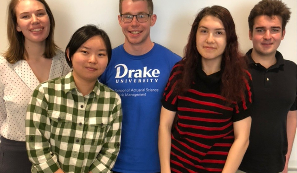 Drake University actuarial students are first US student team to win international case competition