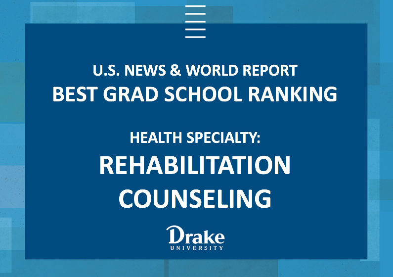 Rehabilitation Counseling Program Rated a Best Graduate School for Health