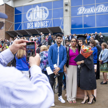 Congratulations to our 1,134 new Drake alumni