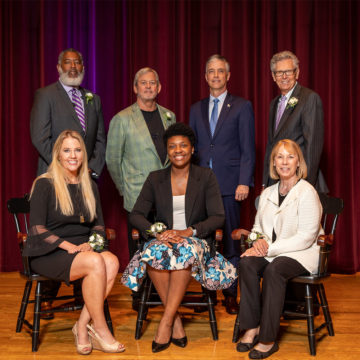 Watch Now: Reflections from the 2019 Alumni Award Winners
