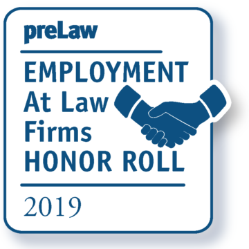 Drake Law School named to preLaw Magazine's 2019 Employment at Law Firms Honor Roll
