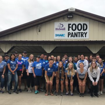 120+ Bulldogs Volunteer for DU Good Day 2019
