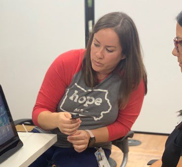 Occupational Therapy Department Receives Assistive Technology from ALS Reeves Foundation Grant