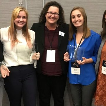 SJMC student public relations work wins professional Best of Show