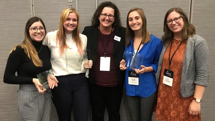 SJMC student public relations work wins professional Best of Show