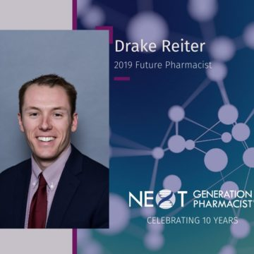 Reiter Wins 2019 Next-Generation Future Pharmacist Award