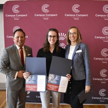 Drake University awarded Platinum Seal in 2019 ALL IN Campus Democracy Challenge